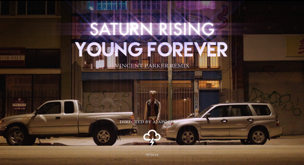Saturn Rising Young Forever Vincent parker RMX